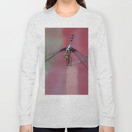 Fuzzy Face Long Sleeve T-shirt