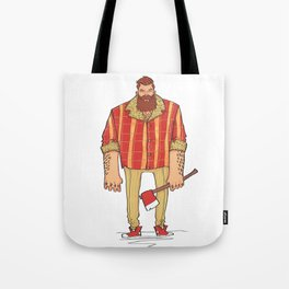 The Woodchop Tote Bag