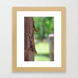 hangout Framed Art Print