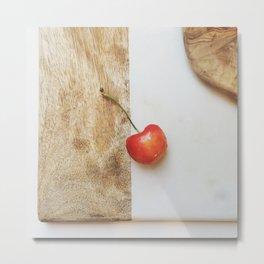 Rainier Cherry - CSA Series Metal Print