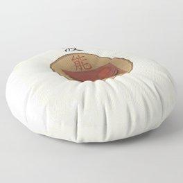 noh tsunami Floor Pillow