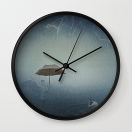 i'm here to protect you Wall Clock