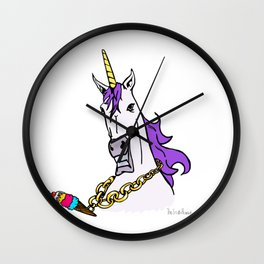 Unicorn Swag Wall Clock