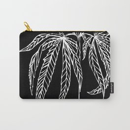 Reverse Cannabis Illustration Carry-All Pouch