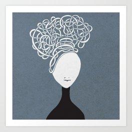 Iconia Girls - Hanna March Art Print