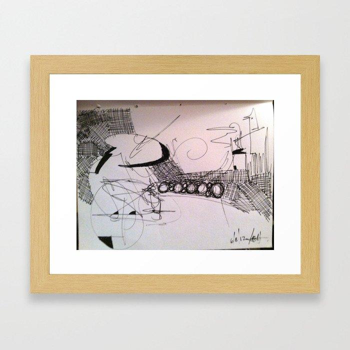 6/8/12 Framed Art Print
