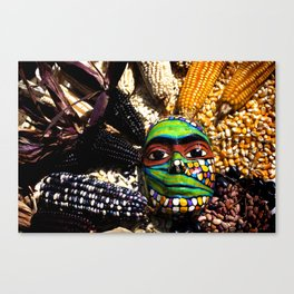 Seed Mask Canvas Print