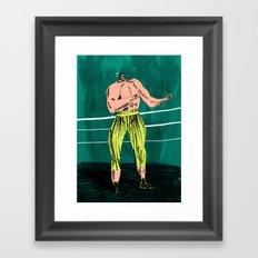 The Boxer Framed Art Print