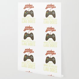 Video Games Don'T Make Us Violent Lag Does Retro Video Game Player Quote E-Sport Wallpaper