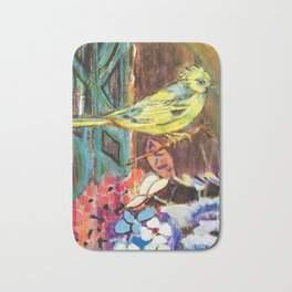 A Little Bird - by Toni Wright Bath Mat