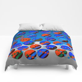 Bubbes Blues Comforters