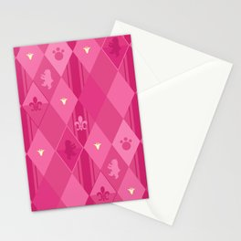 Pink Lily Bears Stationery Cards