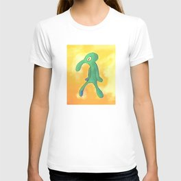 High Res Bold and Brash Repaint Painting T-shirt