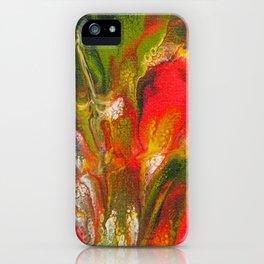 Gladiola Garden 1 iPhone Case