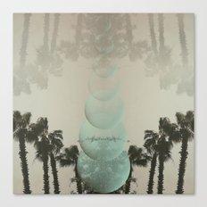 palm tree portal Canvas Print