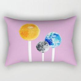 SUN MOON EARTH LOLLIPOPS Rectangular Pillow