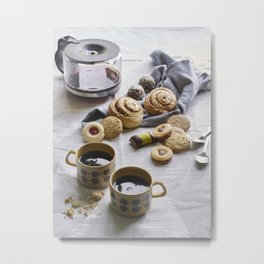 FIKA - The Swedish Art of Drinking Coffee Metal Print