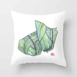 Zongzi Throw Pillow