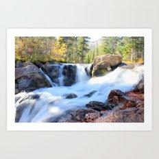 Autumn's Peacefulness Art Print