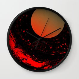 Dust 03 - Post Biological Universe Wall Clock