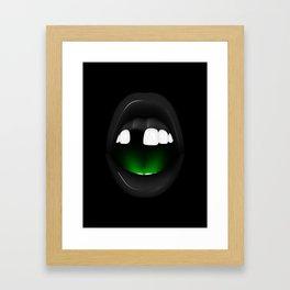 Neide - Dark version Framed Art Print
