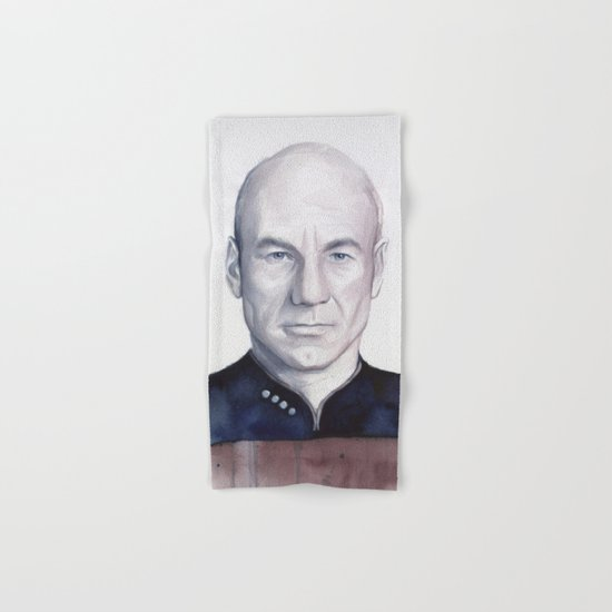 Captain Picard Hand & Bath Towel