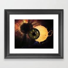 Blink Framed Art Print