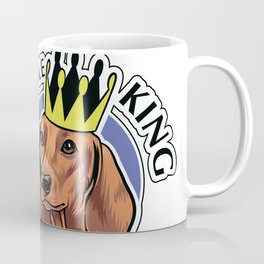 Brown dachshund king Coffee Mug