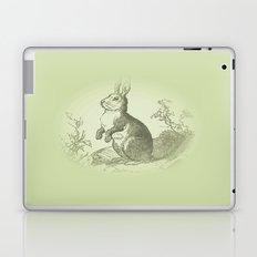 Bunny Rabbit {soft sage green} Laptop & iPad Skin