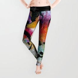 Enso Abstraction No. mm15 Leggings