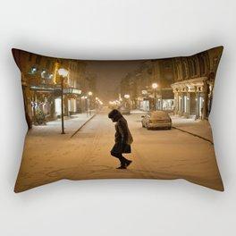 Québec Night Rectangular Pillow