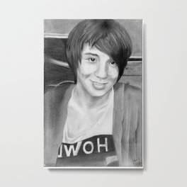 Dan Howell Metal Print