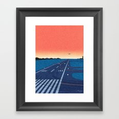 Takeoff Framed Art Print