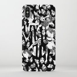 GURO GIRL PATTERN iPhone Case