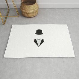 top-hat and smoking Rug