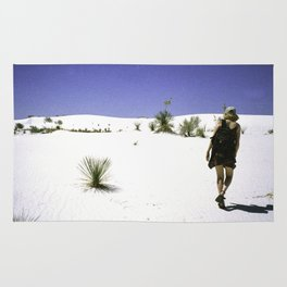 White Sands New Mexico Rug