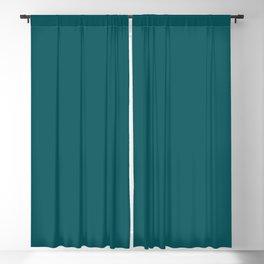 BM Beau Green Teal Aqua Turquoise 2054-20 - Trending Color 2019 - Solid Color Blackout Curtain