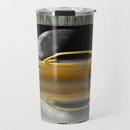 Camaro-Yellow Sport Travel Mug