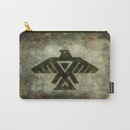 Thunderbird flag - Vintage grunge version Carry-All Pouch