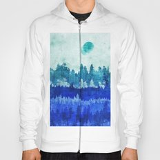 The Blue Forest Moon Hoody