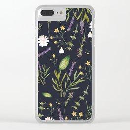 My Herbarium Clear iPhone Case