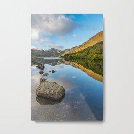 Crafnant Lake Snowdonia Metal Print