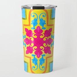 Portuguese azulejo tiles. Gorgeous patterns. Travel Mug