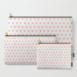 Geometric Foxes Carry-All Pouch