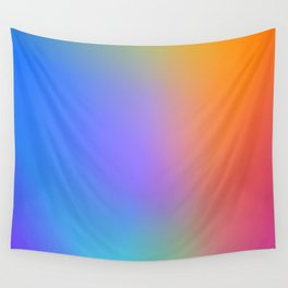 Colorful Multicolor Rainbow Gradient / GFTgradient011 Wall Tapestry