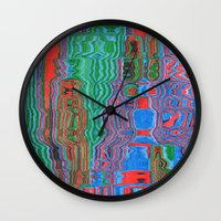 shower Wall Clocks featuring Shower by Rocovich