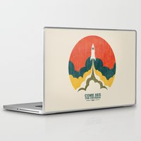 universe Laptop & iPad Skins featuring Come See The Universe by Picomodi