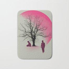 Sterek in Pink Bath Mat