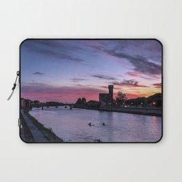 Sunset at Pisa, Italy  Laptop Sleeve