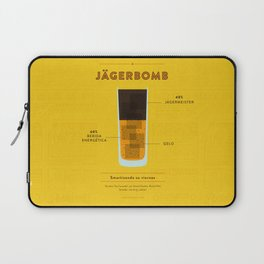 Jagerbomb - Cocktail by Juan Laptop Sleeve